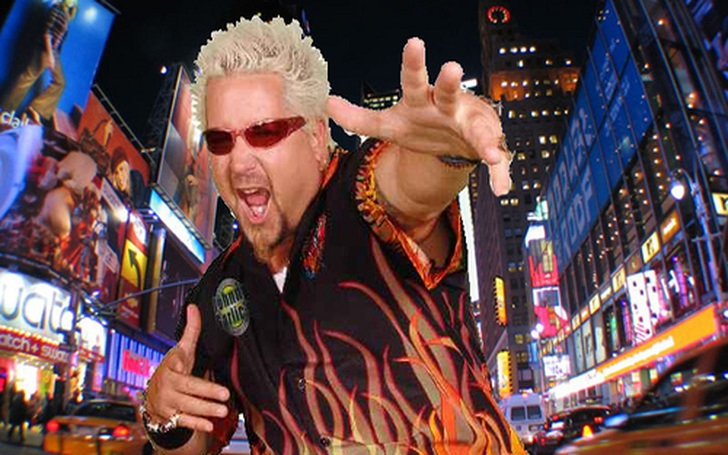 American Restaurateur Guy Fieri Says He Hates That Flame Shirt