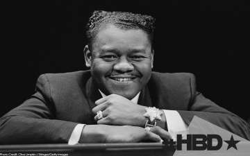 Fats Domino With 35 records in the 'U.S. Billboard Top 40' Dies Aged 89