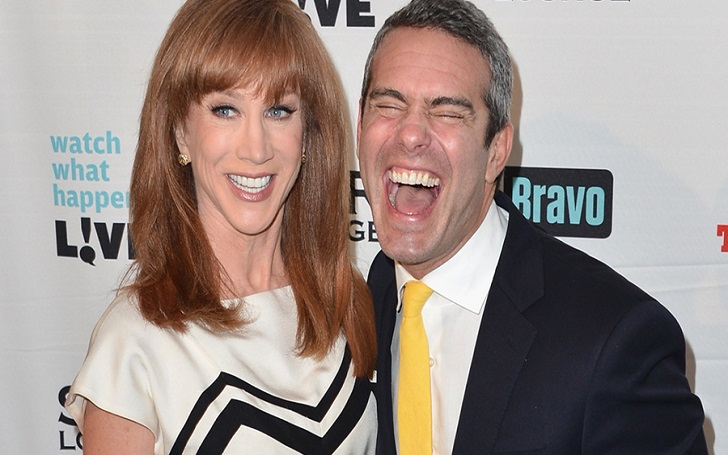 Kathy Griffin Lashes Out at Watch What Happens Live - Andy Cohen, Claims