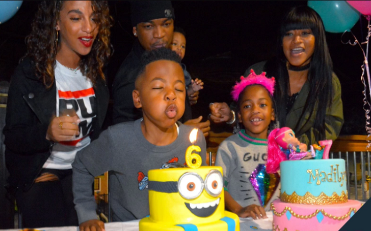 Exes Monyetta Shaw And Ne-Yo Throw A Joint Birthday Party for Kids: 'Everybody Played Well Together'