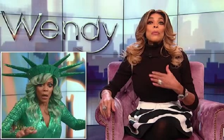 Wendy Williams Talks About Her Fainting Spell Live On TV Before She Recounted Her Fear Tearfully