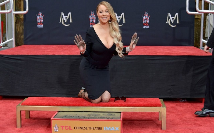 Mariah Carey Achieves Her 'Childhood Dream' At Hand and Footprint Ceremony