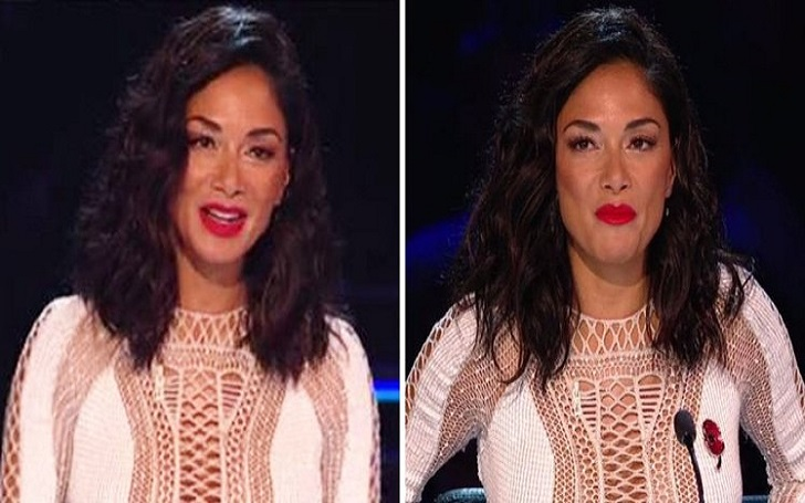 X-Factor's Nicole Scherzinger Adds A Poppy To Her Outfit After Fans Blast Her For Not Wearing One