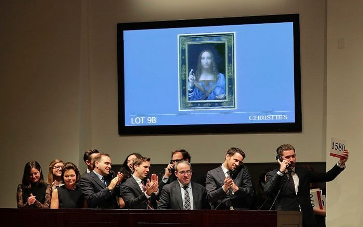 The Last Known Leonardo da Vinci's Christ Painting Sells For Record $450 Million