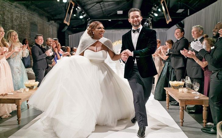 Alexis Ohanian's Wife Serena Williams Felt Like A 'Princess and Superwoman' In Her Wedding Dress