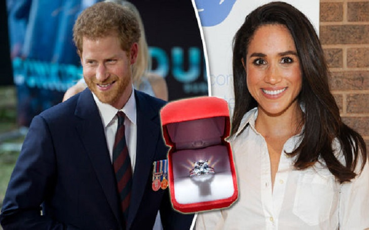 Meghan Markle's Engagement Ring From Boyfriend Prince Harry Will Feature Princess Diana's Diamonds