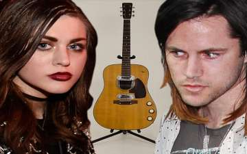 Frances Bean Cobain Is Officially Single But Fighting Ex for Guitar Belonging to Father Kurt