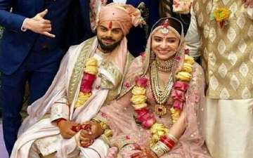 Cricketer Virat Kohli Marries Actress Anushka Sharma In A Private Wedding Ceremony in Italy