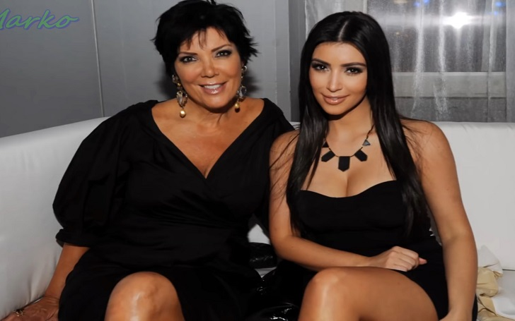 Kim Kardashian Parties with Mother Kris Jenner while singer Keith Urban performs