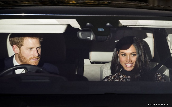 Prince Harry and Meghan Markle Join Prince William and Kate Middleton at the Queen's Christmas Lunch