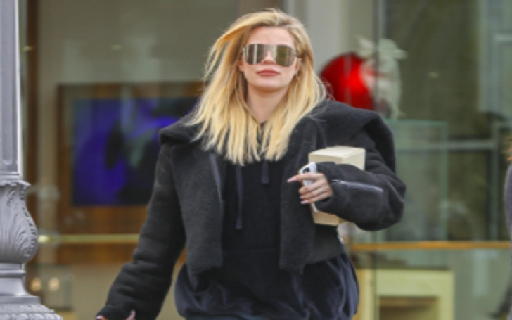 Khloe Kardashian Steps Out for a Stroll for First Time Since Confirming Pregnancy: Pictures