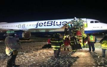JetBlue Plane Goes Off The Taxiway at Boston's Logan Airport: Details