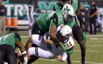 Marshall University Football Player Paralyzed after Shooting at New Year's Eve Celebration
