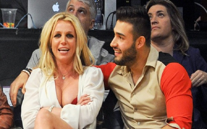 Songstress Britney Spears Tells Boyfriend Sam Asghari 'I Love You' in Sweet Video