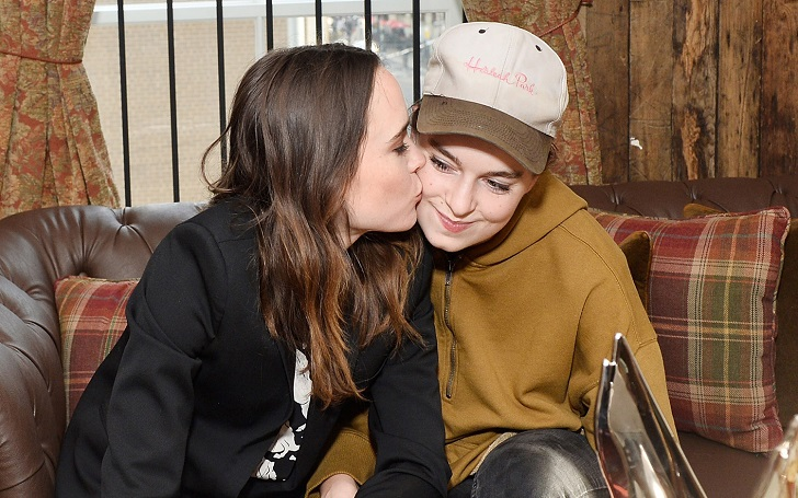 Ellen Page And Girlfriend Emma Portner Are Married Stunning Wedding