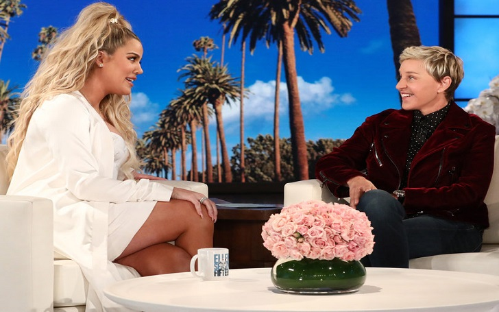 Khloe Kardashian Talks About Sister Kylie Jenner's Pregnancy on The Ellen DeGeneres Show