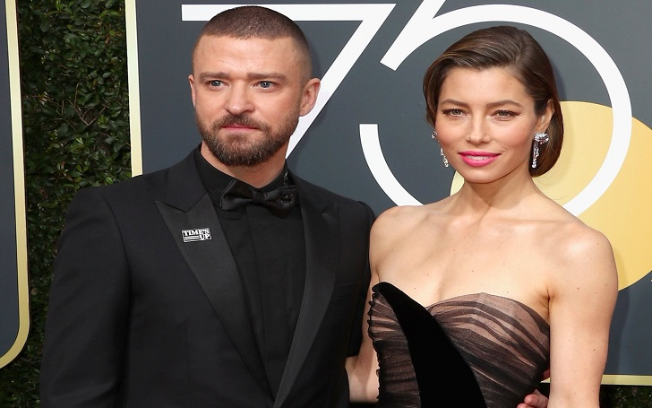 On Car Ride: Justin Timberlake and Jessica Biel Sing His New Song 'Filthy' to Golden Globes 2018