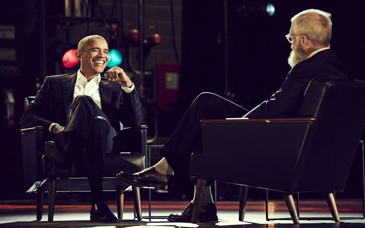 David Letterman Debuts in a New Netflix series with His First Guest Barack Obama