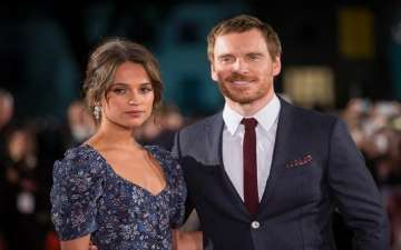 Alicia Vikander Enjoys Dinner with Husband Michael Fassbender, Dresses Monochrome for the Date Night