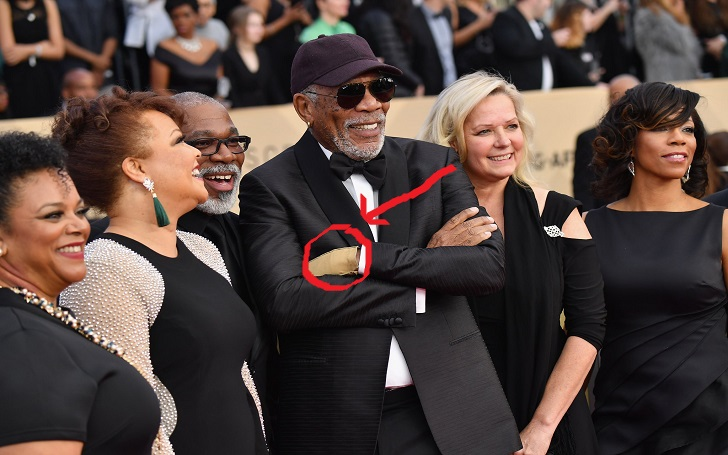 Awarded The 'SAG Lifetime Achievement Award' Morgan Freeman Wears Only One Glove: Why?