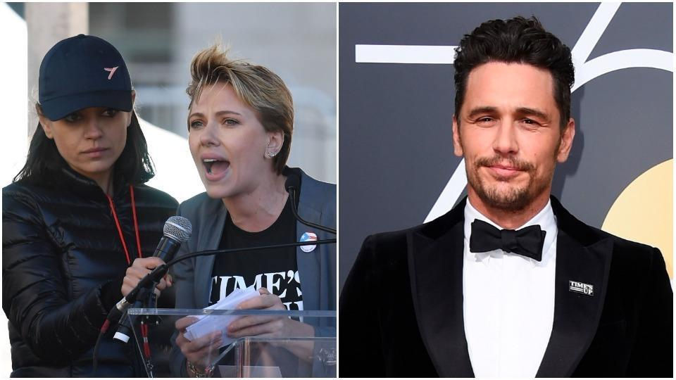 Scarlett Johansson Cryptically Calls Out James Franco in Women's March Speech in LA