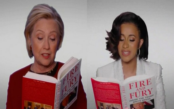 Cardi B, Hillary Clinton, and More 'Audition' to Narrate 'Fire and Fury' at the 2018 Grammy Award