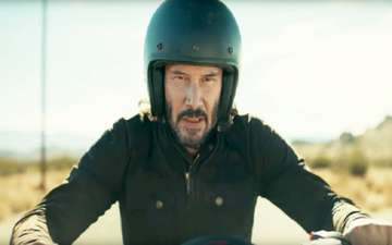 Super Bowl Ad: Keanu Reeves Takes Life-Risking Motorcycle Ride