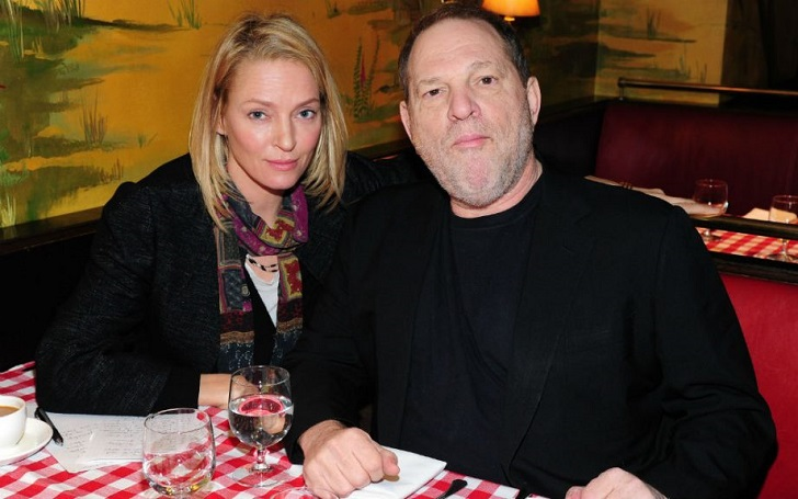 Uma Thurman Accuses Harvey Weinstein Of Assault: 'It Was Such a Bat to the Head'