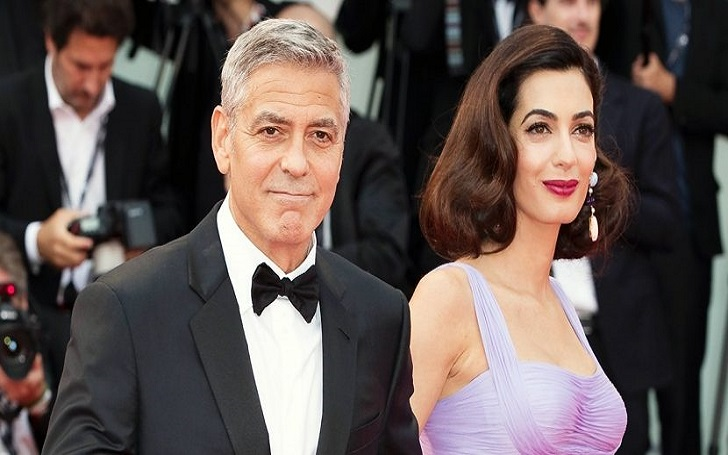 George Clooney Celebrated His Wife Amal Clooney's 40th Birthday: Details