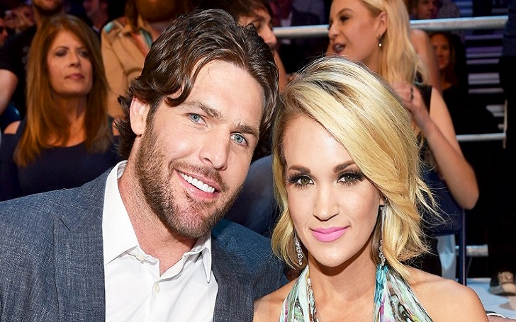Carrie Underwood Works Out With Husband and Son After Breaking Wrist, Injuring Face