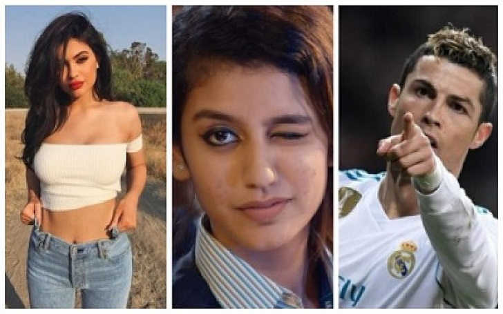Priya Prakash Varrier Record: 3rd Most Followed Celebrity on Instagram in a Day