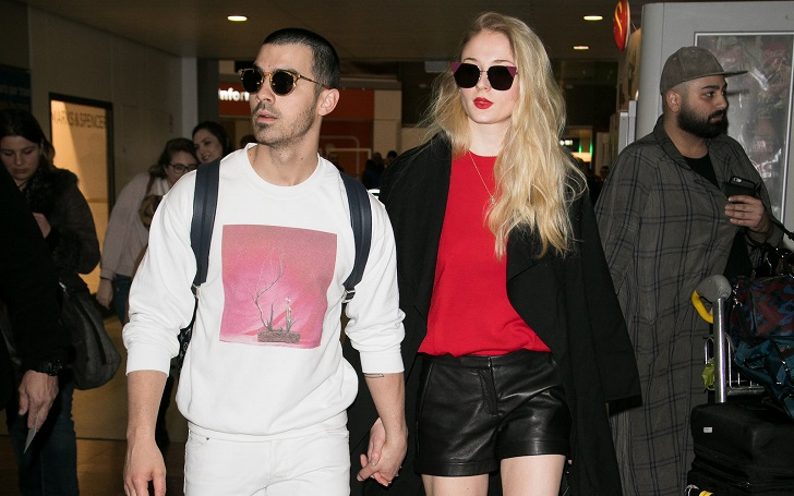 Sophie Turner and Joe Jonas Romantic Getaway in the Maldives