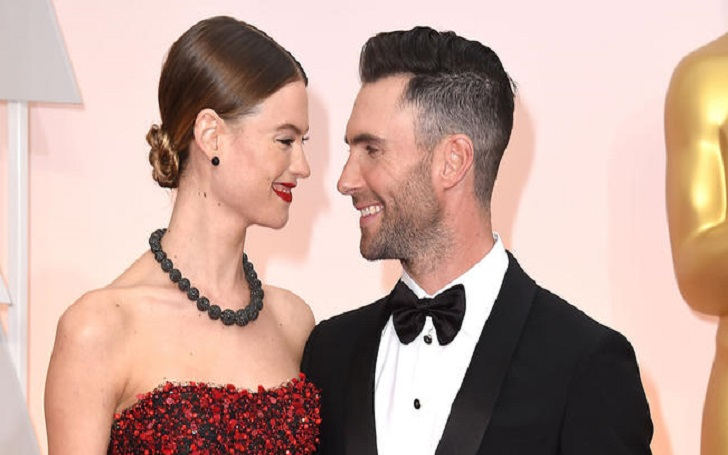 Behati Prinsloo Posts First Photo of Her and Husband Adam Levine's Second Baby Gio Grace Levine