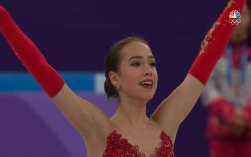 First Russian Gold Medalist: Alina Zagitova Wins Olympic Figure Skating Title For OAR's First Gold