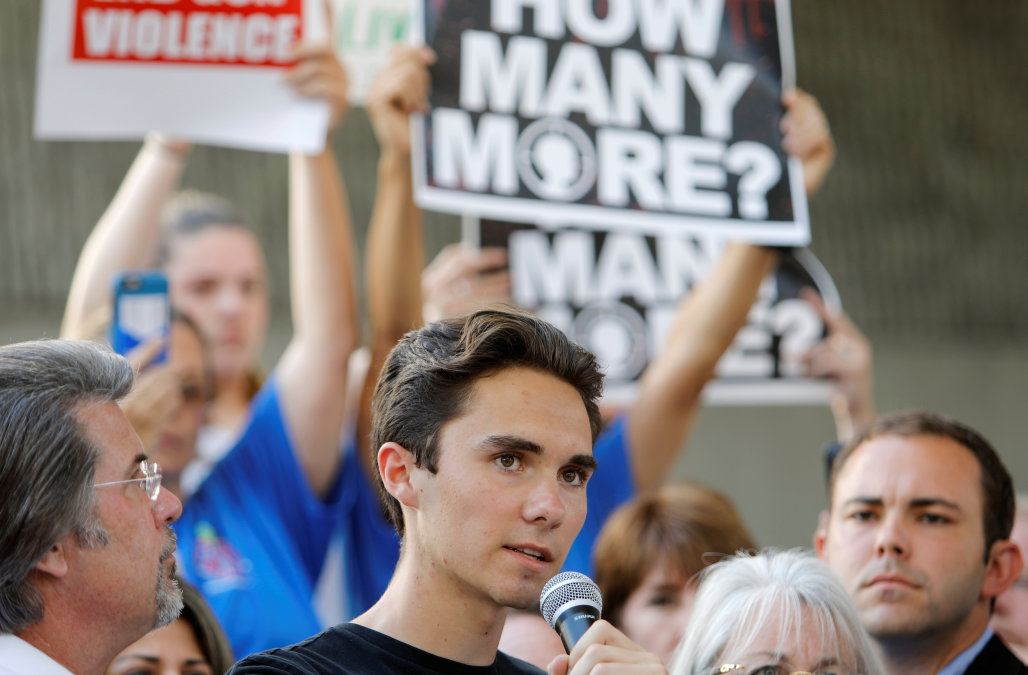 Parkland Shooting Survivor, David Hogg, Criticizes NRA Spokeswoman Dana Loesch