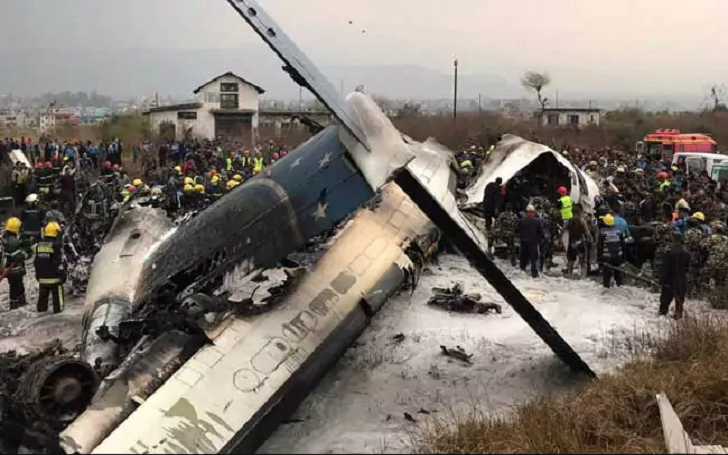 US-Bangla Airlines' Plane Crashes at TIA in Kathmandu, Nepal: At Least 27 Dead Out of 67 Passengers