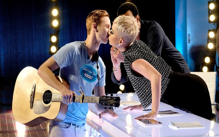 'American Idol' Contestant, Benjamin Glaze, 19, Regrets First Kiss With Katy Perry