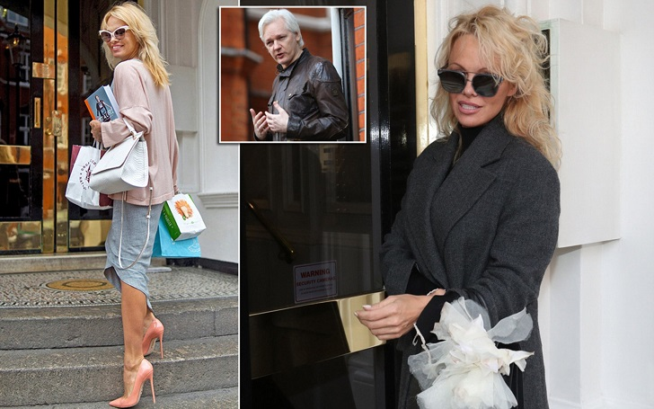 FBI Set To Quiz Pamela Anderson About Her Friendship with Wikileaks Founder Julian Assange