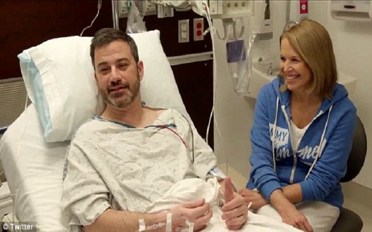Jimmy Kimmel Undergoes First Colonoscopy With His Supportive Friend Katie Couric