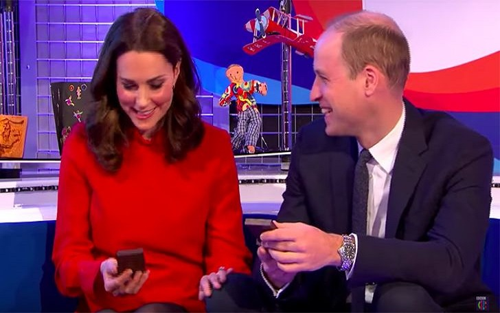 Prince William can't keep his hand off wife Kate Middleton in Public...it Happened Twice this Week