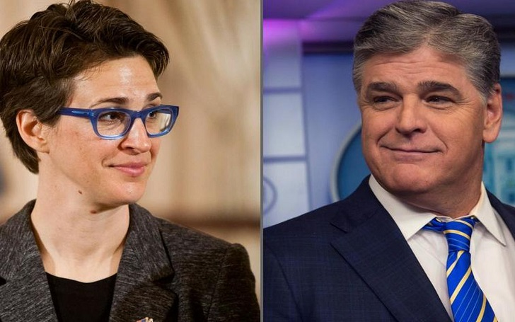 Rachel Maddow Beats Sean Hannity, Entitles as Most-Watched Cable News Host