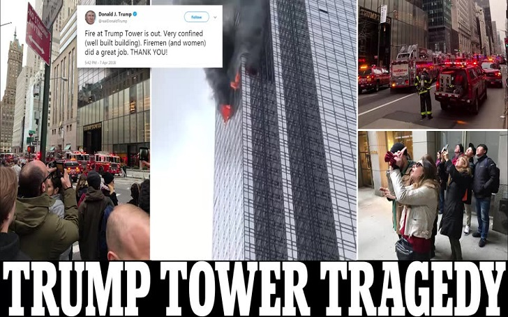 Trump Tower Fire Leaves An Old Man 67 Dead And 6