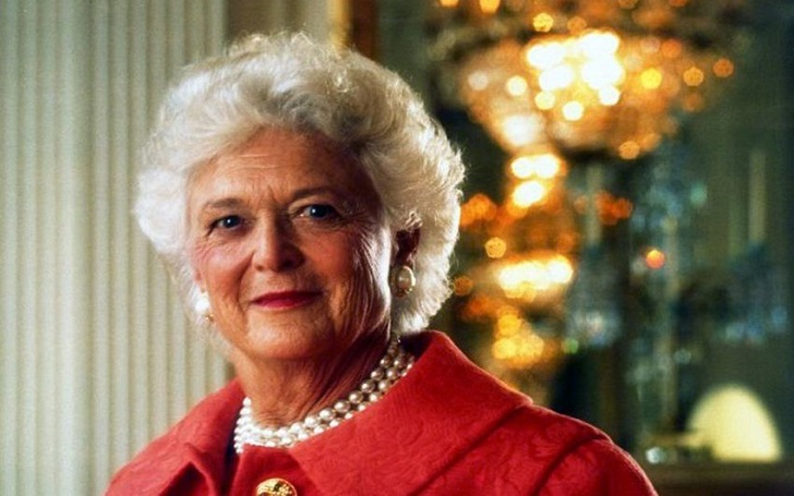 Former First Lady of the United States Barbara Bush Dies At 92