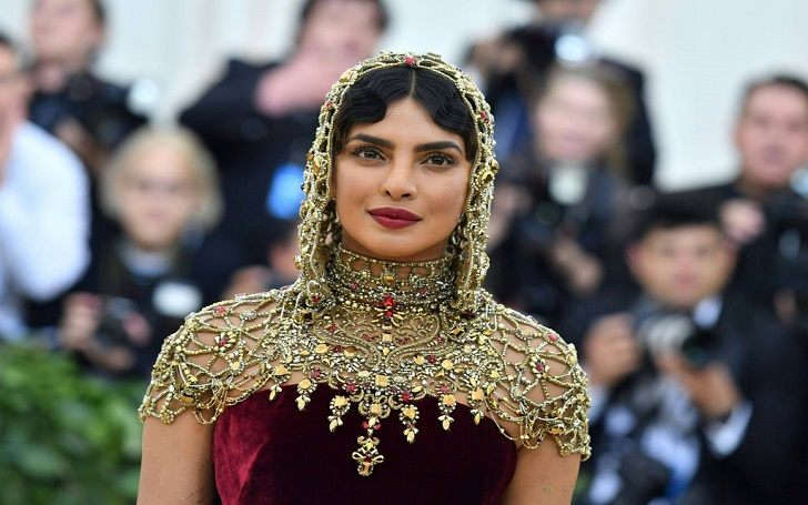 Priyanka Chopra Looks Stunning in Burgundy Velvet Gown at Met Gala 2018: Photos