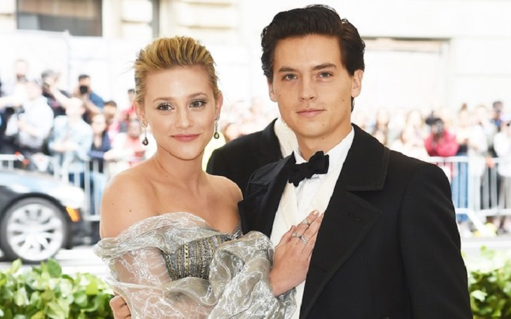 'Riverdale' Stars Lili Reinhart and Cole Sprouse Make Red Carpet Debut at Met Gala 2018
