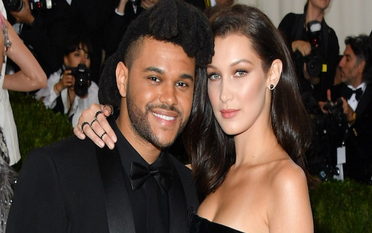 The Weeknd Kisses New Girlfriend Bella Hadid at Cannes Film Festival After Selena Gomez Split