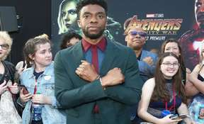 'Black Panther' Star Chadwick Boseman is Tired of Doing Wakanda Salute All The Time