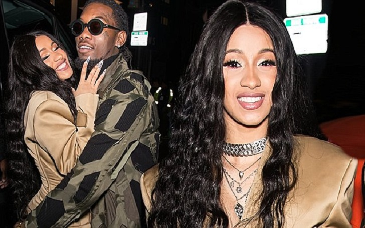 Cardi B Breaks Her Silence Following the Car Accident of Her Fiancee Offset