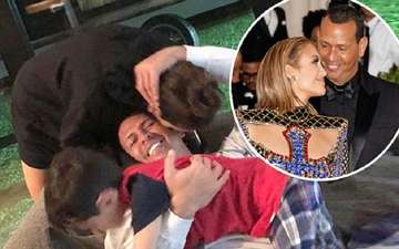 Alex Rodriguez's Sweet Moment with Girlfriend Jennifer Lopez's Son Max: See the Photo