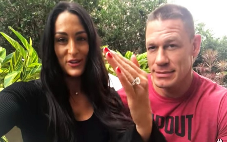 Nikki Bella Tries to Return Engagement Ring to Ex-Fiancee John Cena: 'He Refused to Accept It'